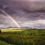 Rainbow, Denali NP, Ak